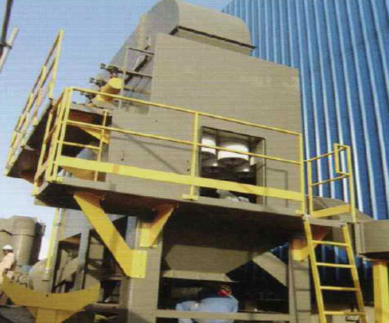 Dust Collector Open